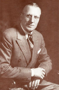 Bob Sutherland photo from 1947 program