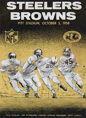 1958 Browns Programme